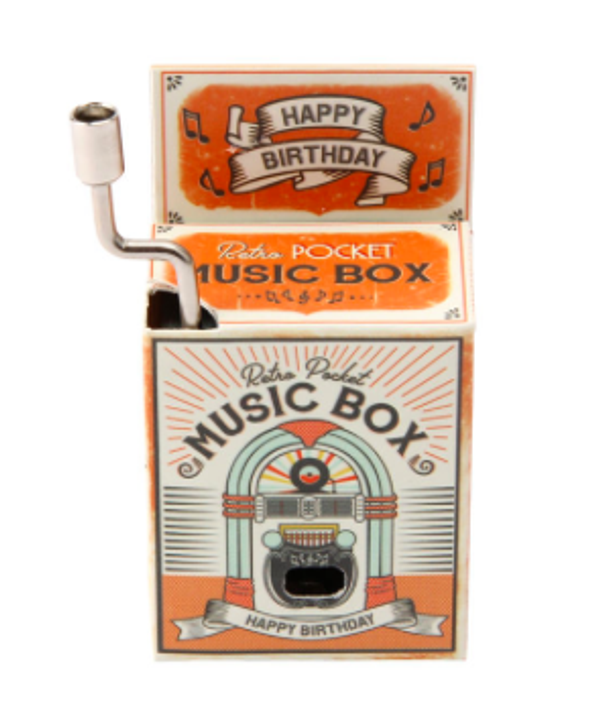 Retro Pocket Music Box