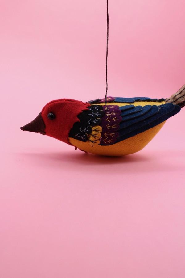 Embroidered Felt Animals