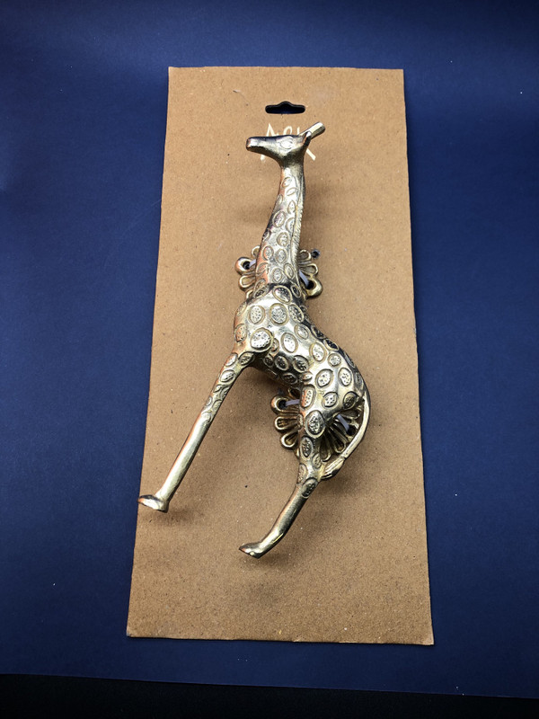 Brass Giraffe Handle