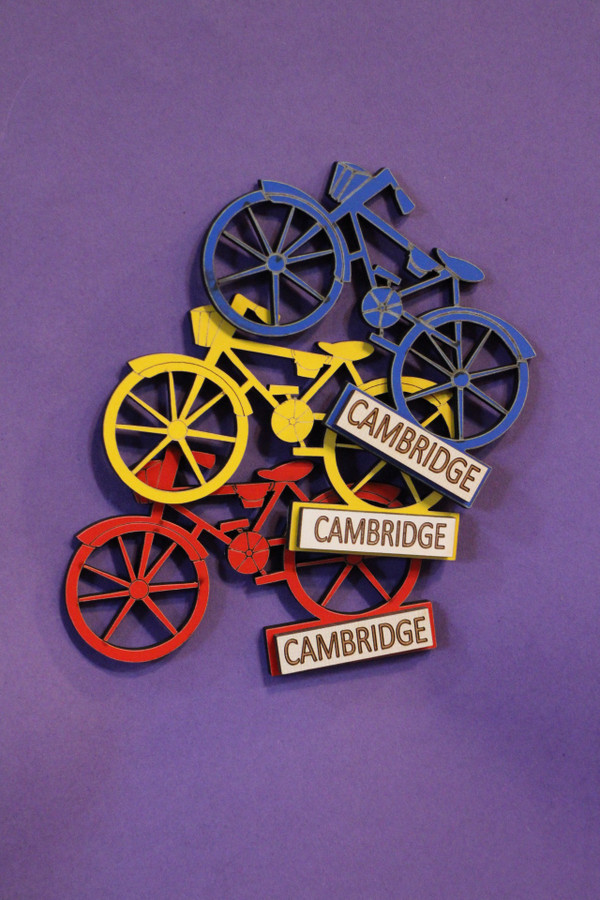 Cambridge Bicycle Magnet
