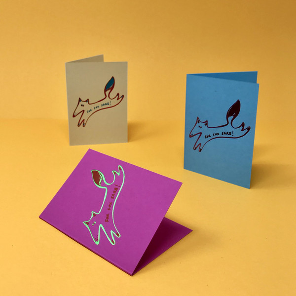 Foil Embossed Mini Card