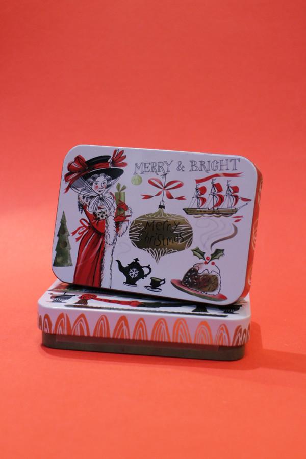 Christmas Fudge Tin