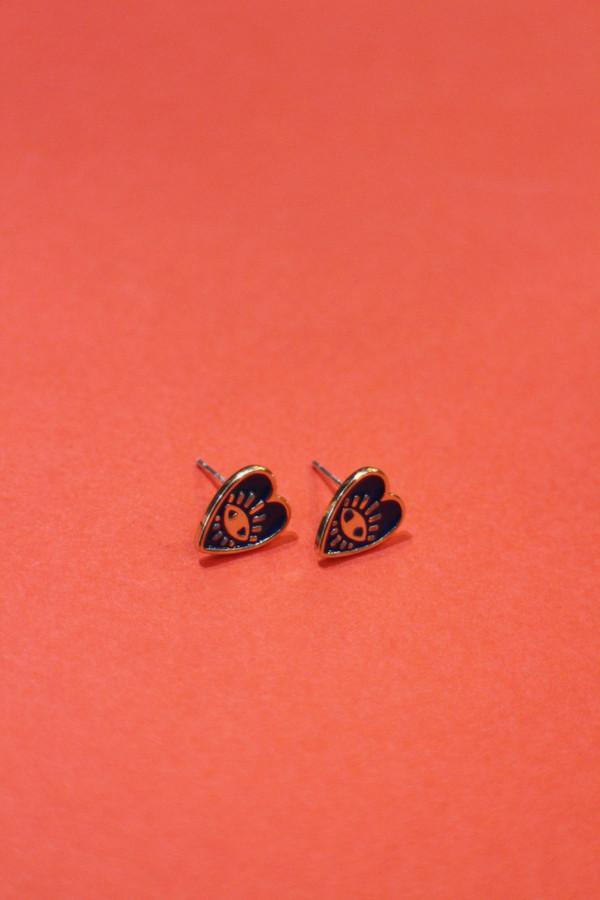 Enamel Charm Earring Set