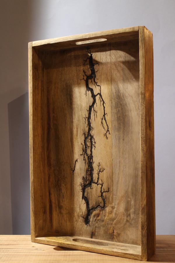 Wooden Lightning Tray