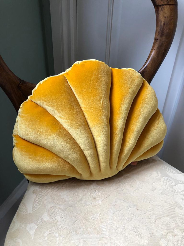 Lower back support shell cushion