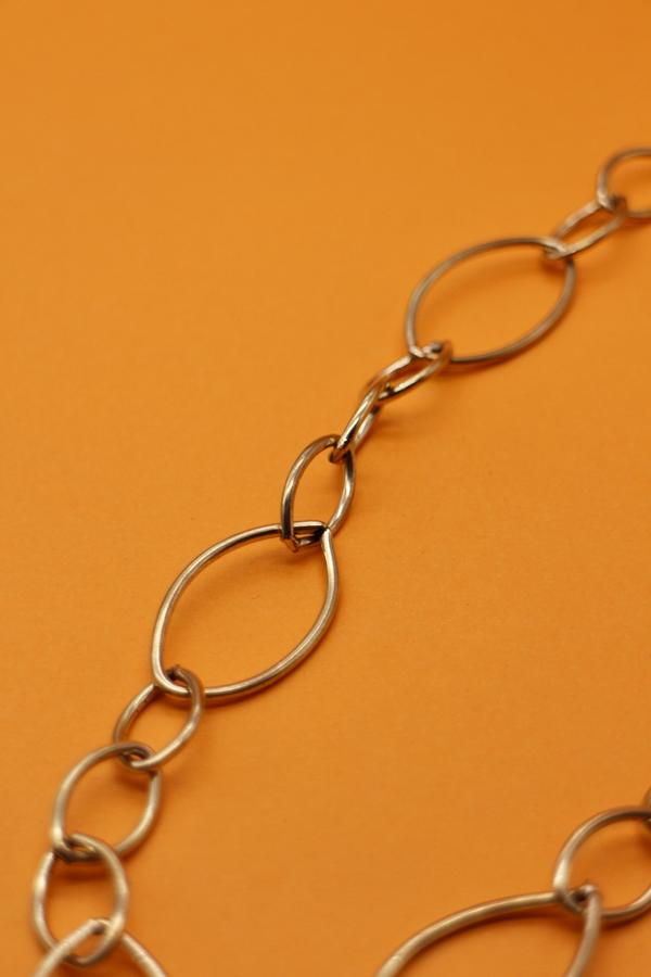 Brass Link Necklace