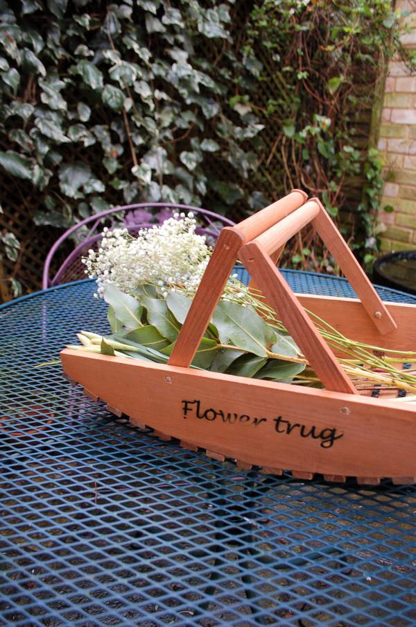 Wooden Flower Trug