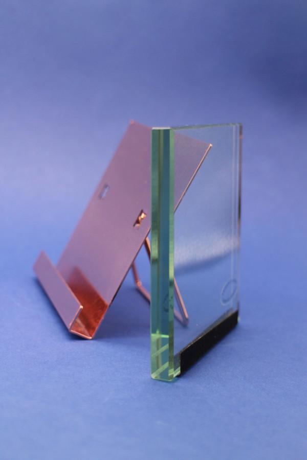 Heavy Copper & Glass Frame - SALE