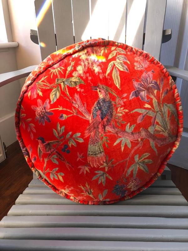 Round Paradise Cushion