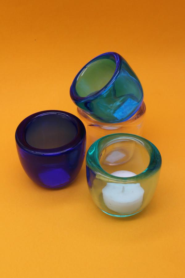 Handmade Recycled Glass Tealight Votive