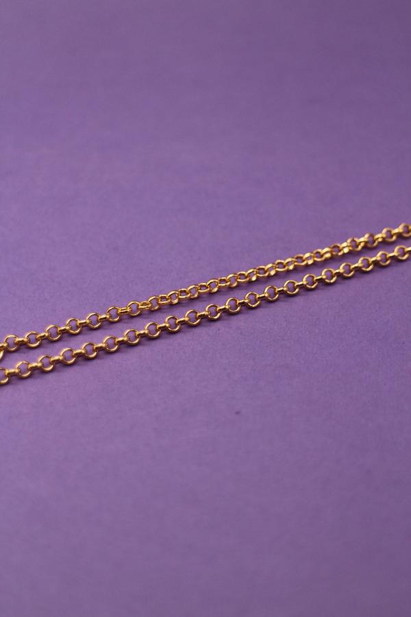 Mini Lock Belcher Chain