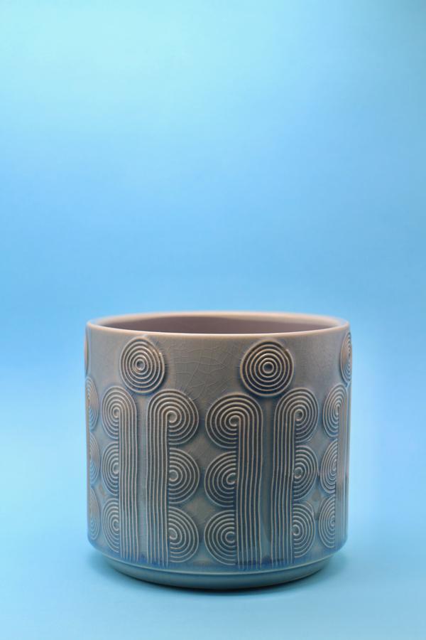 Glazed Pot 14cm