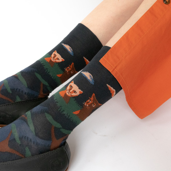 Fine French Socks - short
