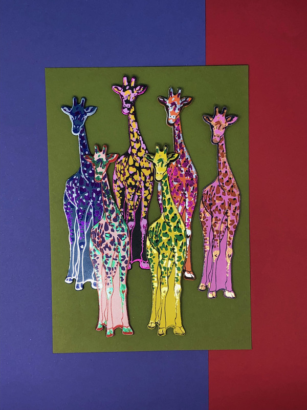 Giraffe Bookmark