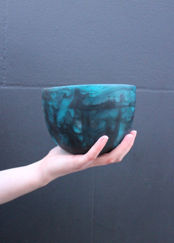Tall Resin Bowl