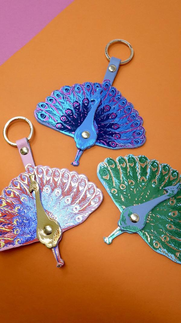 Peacock Key Fob