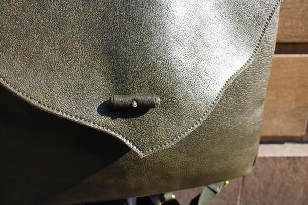 Rucksack front detail