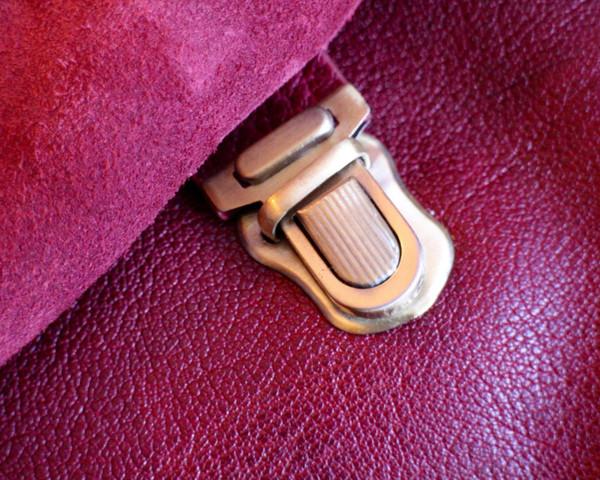 Rucksack fastening detail