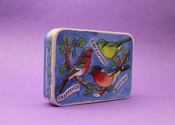 Bird Families Tin