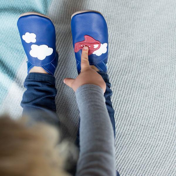 Aeroplane shoes 0-6 months