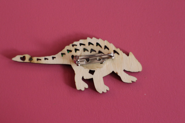 Large Dinosaur Brooch