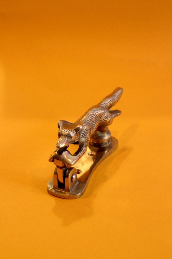 Brass Running Fox Door Knocker