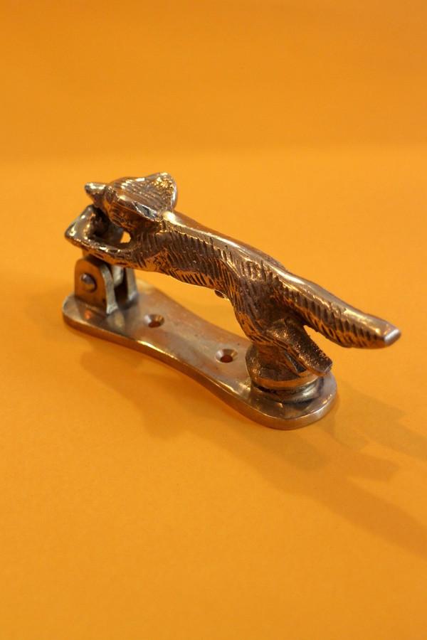 Brass Running Fox Door Knocker