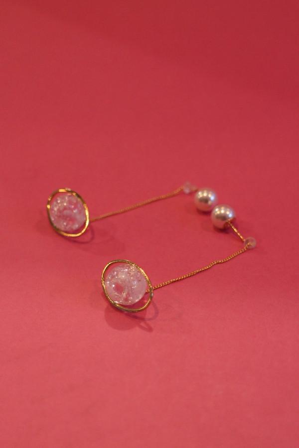 Planet Drop Earrings