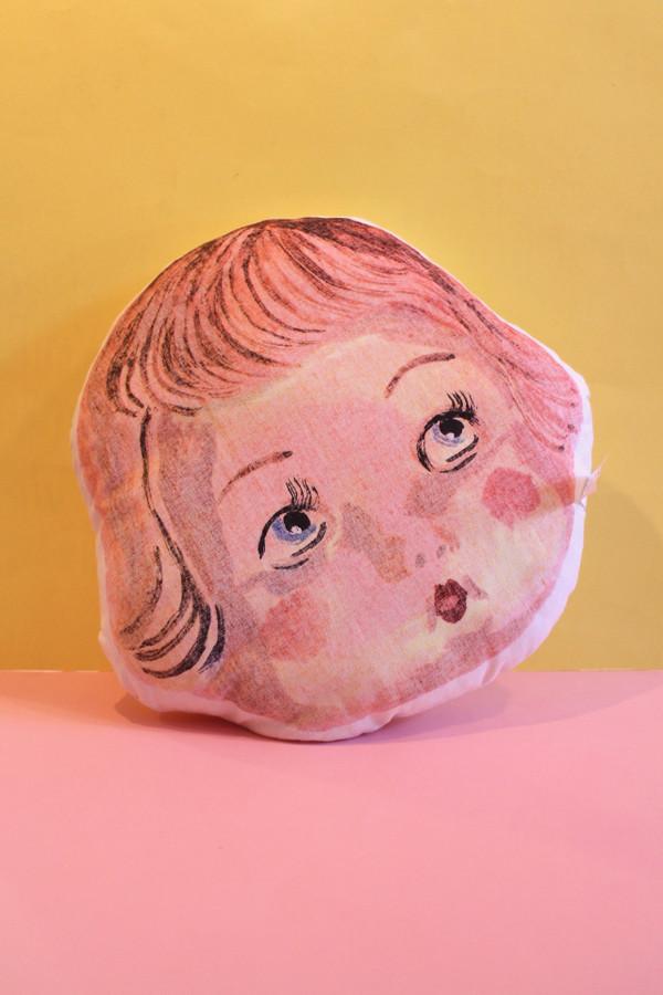 Nathalie Lété Face Pillow