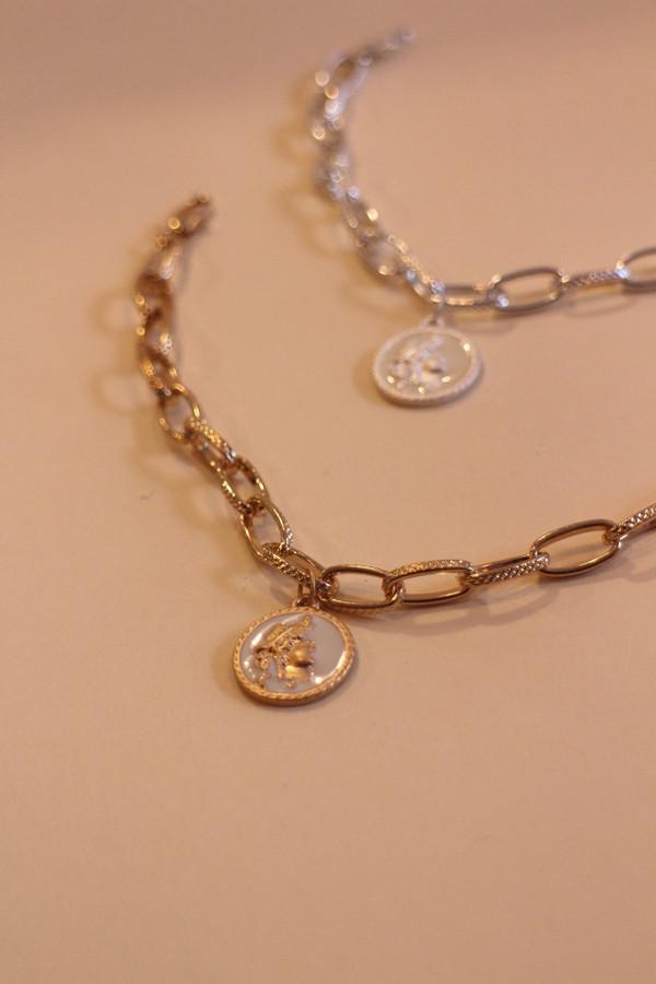 Classic Coin Chain Bracelet
