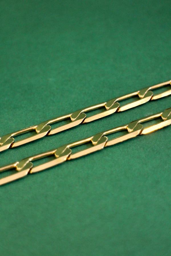 Flavia T-Bar Chain Necklace