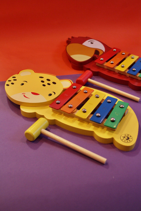 Wooden Animal Xylophone