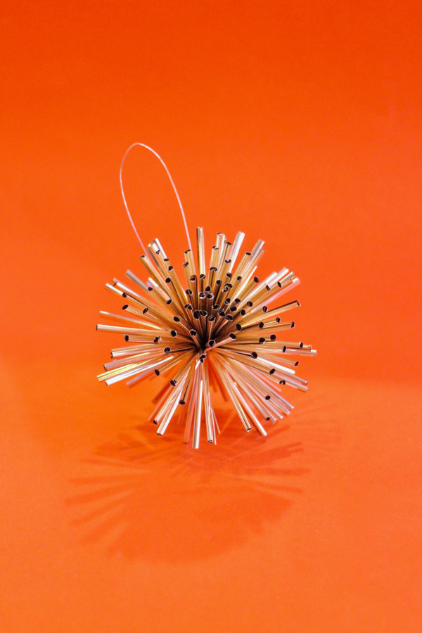 Tinsel Burst Ornament