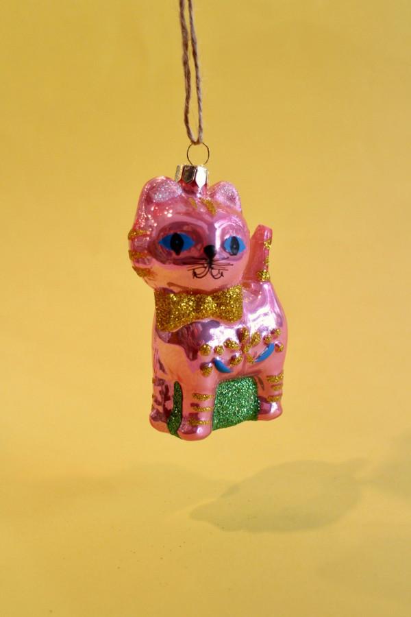 Retro Cat Decoration