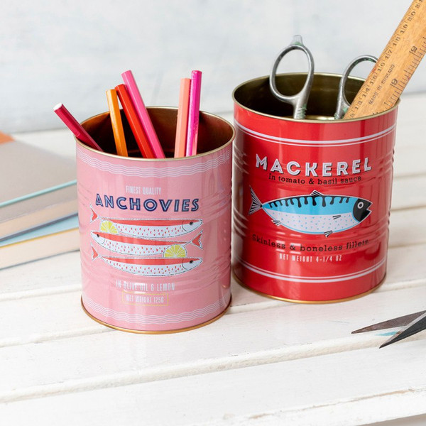Vintage Inspired Storage Tins