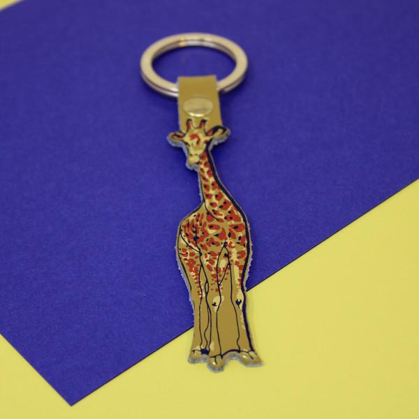 Giraffe Key Fob