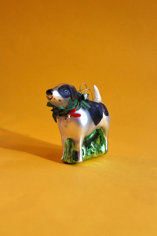 Painted Glass Pet Decoration