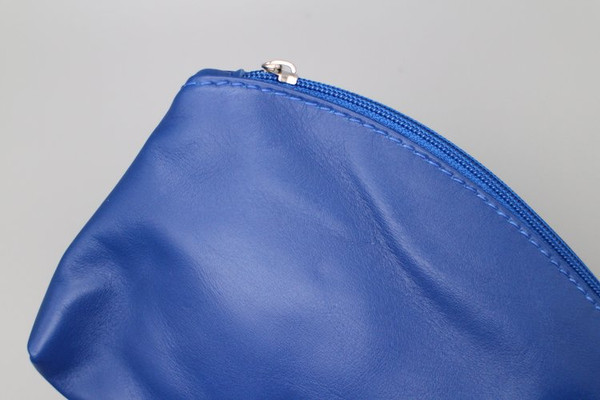 Large Soft Leather Pouch