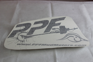 PPF Mud Motors Decal