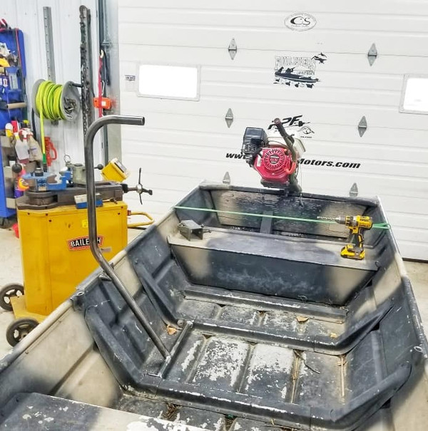 DIY Jon Boat Grab Bar kit
