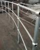 Ball Fence Through Post