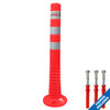 The Super Flexi Bollard comes complete with mounting bolts.
