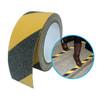 Anti-Slip Tape Yellow/Black Pattern - 18M Roll