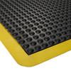 Anti Fatigue Mat - Ergo Stance 600mmx 900mm - Black OR Yellow Border