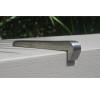 Stainless Steel Skateboard Deterrent 120mm