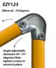 Ezyrail 123 - Elbow Variable 40° - 70°
