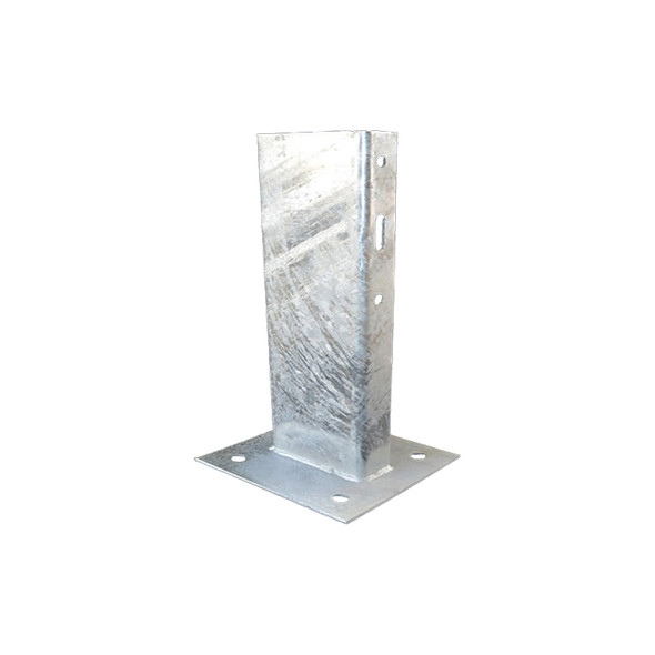 Guard Rail 750mm Post with baseplate