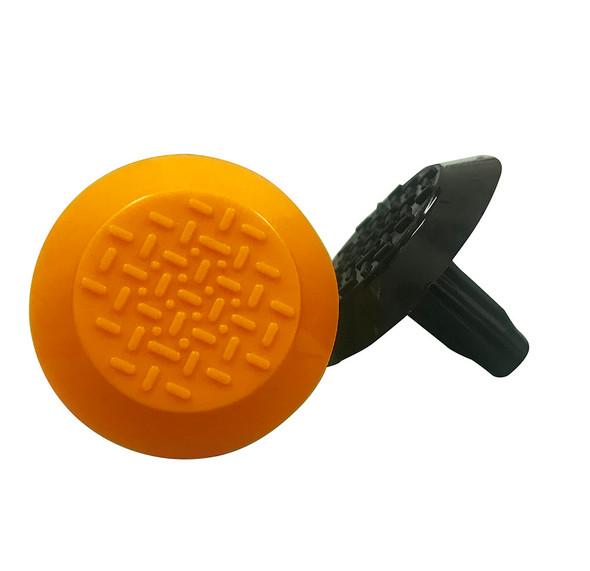 Tactile Indicator Single Studs - TGSI 25mm shaft - Orange