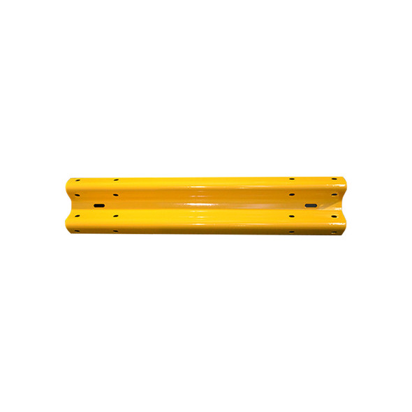 Guardrail 2M length – Powdercoated Safety Yellow
