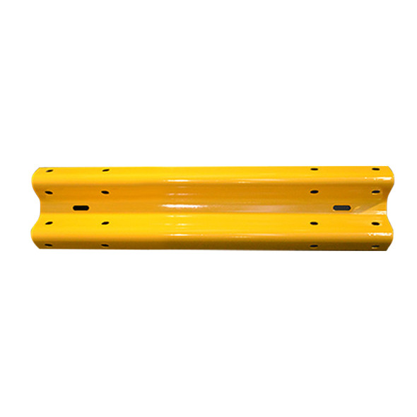 Guardrail 1.5M Length - Powdercoated Safety Yellow